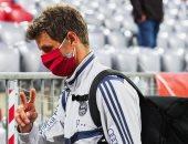 مولر يعود إلى ميونخ على طائرة خاصة ويخضع للعزل 10 أيام