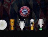 بايرن ميونخ ثاني فريق يحقق السداسية التاريخية بعد برشلونة 2009
