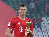 ليفاندوفسكي يتوج بجائزة أفضل لاعب فى كأس العالم للأندية