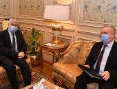 رئيس خارجية النواب وسفير روسيا يبحثان العلاقات البرلمانية المصرية الروسية