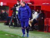 إشبيلية ضد برشلونة .. كومان: لم نستحق الخسارة وعلى ملعبنا نفعل أى شىء