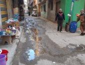شركة المياه بالدقهلية تستجيب لشكوى من سوء الصرف الصحى بشارع جامع الهدي