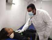 """""""صحة أسوان"""" تنظم قافلة طبية للكشف على 3626 مواطنا بالمجان"""