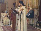 الأنبا باخوم يتفقد أعمال ترميم كنيسة قلب يسوع الكاثوليكية بمصر الجديدة
