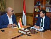هشام نصر  فى وزارة الرياضة لإنقاذ قمة محترفي اليد من التأجيل