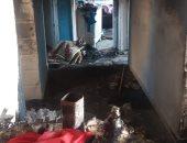 النار أحرقت جسد الأب وطفليه.. اليوم السابع داخل شقة الجحيم بـ6 أكتوبر... فيديو