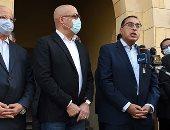 رئيس الوزراء : منطقة سور مجرى العيون تعانى من تلوث كبير وتم نقل المدابغ