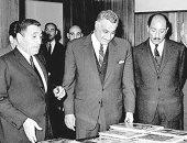 سعيد الشحات يكتب.. ذات يوم 13فبراير 1969.. «عبدالناصر» يزور «الأهرام» ويجلس على مكتب «هيكل» قائلا: هذا هو العمل الوحيد الذى كنت أرغب فى القيام به