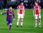ميسي يتوج بجائزة أفضل لاعب فى الدوري الإسباني بشهر فبراير