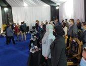 بدء المؤتمر الصحفي لوزيرى البيئة والهجرة لمبادرة القرية المصرية المتوافقة بيئيا