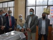 رئيس جامعة بور سعيد يتفقد المدينة الجامعية ويفتتح المخبز الألى بمدينة العبد