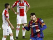 """فيفا يصف ميسى بــ""""الساحر"""" بعد قيادة برشلونة لخماسية ألافيس فى الدورى الإسبانى"""