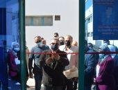 محافظ البحر الأحمر يفتتح قسم الرمد بمستشفى الغردقة العام.. صور
