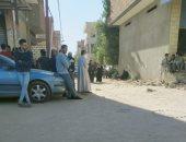 شبهة جنائية وراء مصرع رجل وزوجته فى قرية سرابيوم بالإسماعيلية.. صور