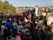 آلاف البورسعيدية يشيعون البدري فرغلي إلى مثواه الأخير .. فيديو لايف
