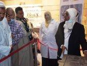 متحف النوبة بأسوان يعرض لأول مرة تجربة قطعة الشهر للزائرين.. صور