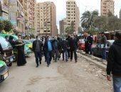 محافـظ المنوفية يتابع رصف وتطوير شارع صبرى أبوعلم ومنطقة المستشفى التعليمى