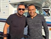 """محمود عبد المغنى وأحمد السقا فى صورة جديدة من كواليس فيلم """"السرب"""""""