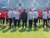 موسيماني يحاضر لاعبي الأهلي بالفيديو قبل انطلاق المران