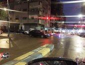سقوط أمطار كثيفة على الإسماعيلية وانتظام حركة الملاحة بقناة السويس.. فيديو