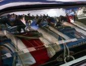 جنازة شعبية مهيبة لوداع رئيس الأرجنتين السابق كارلوس منعم