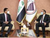 وزير التخطيط العراقى يبحث مع السفير المصرى تعزيز وزيادة حجم التعاون الاقتصادى