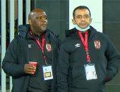 """""""نيولوك"""" موسيماني يخطف الأضواء في مباراة الأهلي والمريخ.. فيديو"""