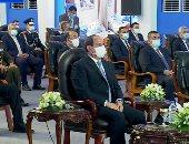 الرئيس السيسى: حان وقت التعامل مع أزمة الزيادة السكانية بشكل طموح.. فيديو