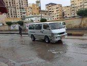 طوارئ فى غرف عمليات المرور بعد هطول أمطار على الطرق السريعة