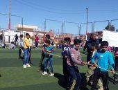 """""""الشباب والرياضة"""" تنظم يوما ترفيهيا لأطفال قرية الروضة بشمال سيناء"""