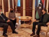فايز السراج يؤكد لمبعوث الأمم المتحدة دعمه لانتقال السلطة فى ليبيا