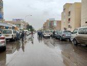 أمطار خفيفة ومتوسطة على المنوفية وشركة المياه ترفع درجة الاستعداد