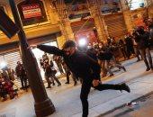 متظاهرة تفقد عينيها فى احتجاجات اسبانيا.. وكتالونيا تحقق بعد اتهام الشرطة