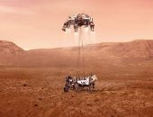 """هبوط مركبة الفضاء """"برسيفيرانس"""" التابعة لناسا على سطح المريخ.. فيديو وصور"""