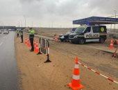 تحرير 5827 مخالفة مرورية متنوعة أعلى الطرق السريعة والصحراوية