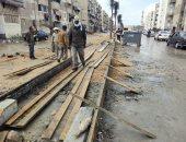 محافظ بورسعيد: تطوير شارع عبد الرحمن شكرى ومنطقة الـ58 عمارة بالضواحى
