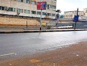 أمطار خفيفة على مناطق متفرقة بالقاهرة والجيزة.. صور