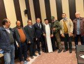 """عضو """"الأعلى للقبائل الليبية"""": ناقشنا مع الدبيبة فى مصر المصالحة الوطنية.. صور"""