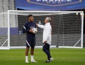 ديشامب: حزين لإصابة توليسو وغيابه عن منتخب فرنسا