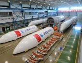 الصين تصنع صاروخا عملاقا لنقل محطة فضاء إلى مدار كوكب الأرض قريبا