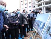 وزيرة الصحة تتفقد الإنشاءات بمستشفى التل الكبير بتكلفة 534 مليون جنيه.. صور