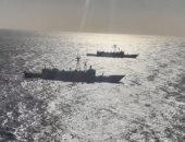 القوات البحرية المصرية والأسبانية تنفذان تدريبا بحريا عابرا بنطاق الأسطول الجنوبى