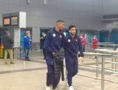 استقبال حافل لبعثة الزمالك في مطار القاهرة قبل السفر للسنغال
