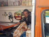 التضامن الاجتماعى بالسويس تنقل شاب مشرد إلى دار كبار بلا مأوى