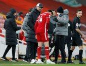 هندرسون قائد ليفربول يغيب 5 مباريات عن الريدز بسبب الإصابة