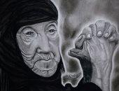 """""""رضوى"""" من الشرقية تشارك """"صحافة المواطن"""" موهبتها بالرسم"""