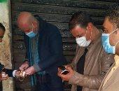 مصادرة 8 شيش من مقهى مخالف فى حملات تفتيشية بالزقازيق