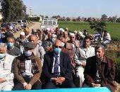ندوة إرشادية لمزارعى قرية المناحريت بديرب نجم فى الشرقية لزيادة إنتاجية القمح