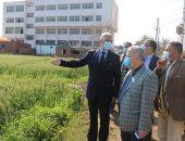 رئيس جامعة المنوفية يتفقد الوحدات الإنتاجية والتجديدات بمزرعة الراهب.. صور