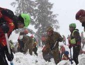 العثور على 4 جثث مفقودة لمتنزهين فى انهيار جليدى بإيطاليا